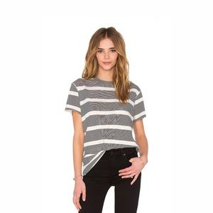 NSF | Striped Moore Tee | S